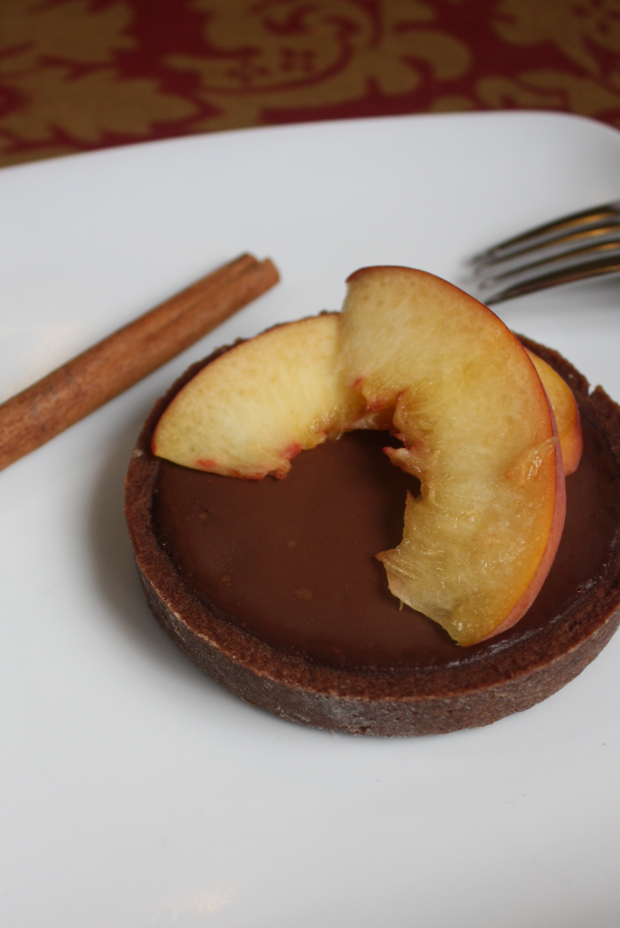 "One Response to ""Cinnamon-Peach Ganache Tarts"""