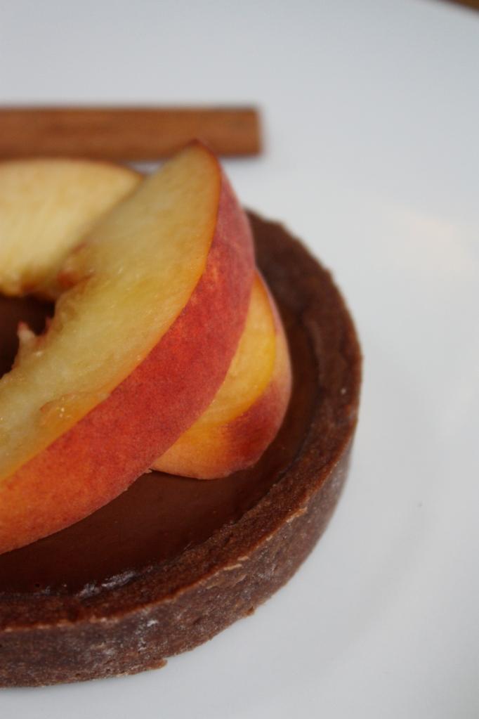 Cinnamon Peach Tarts1