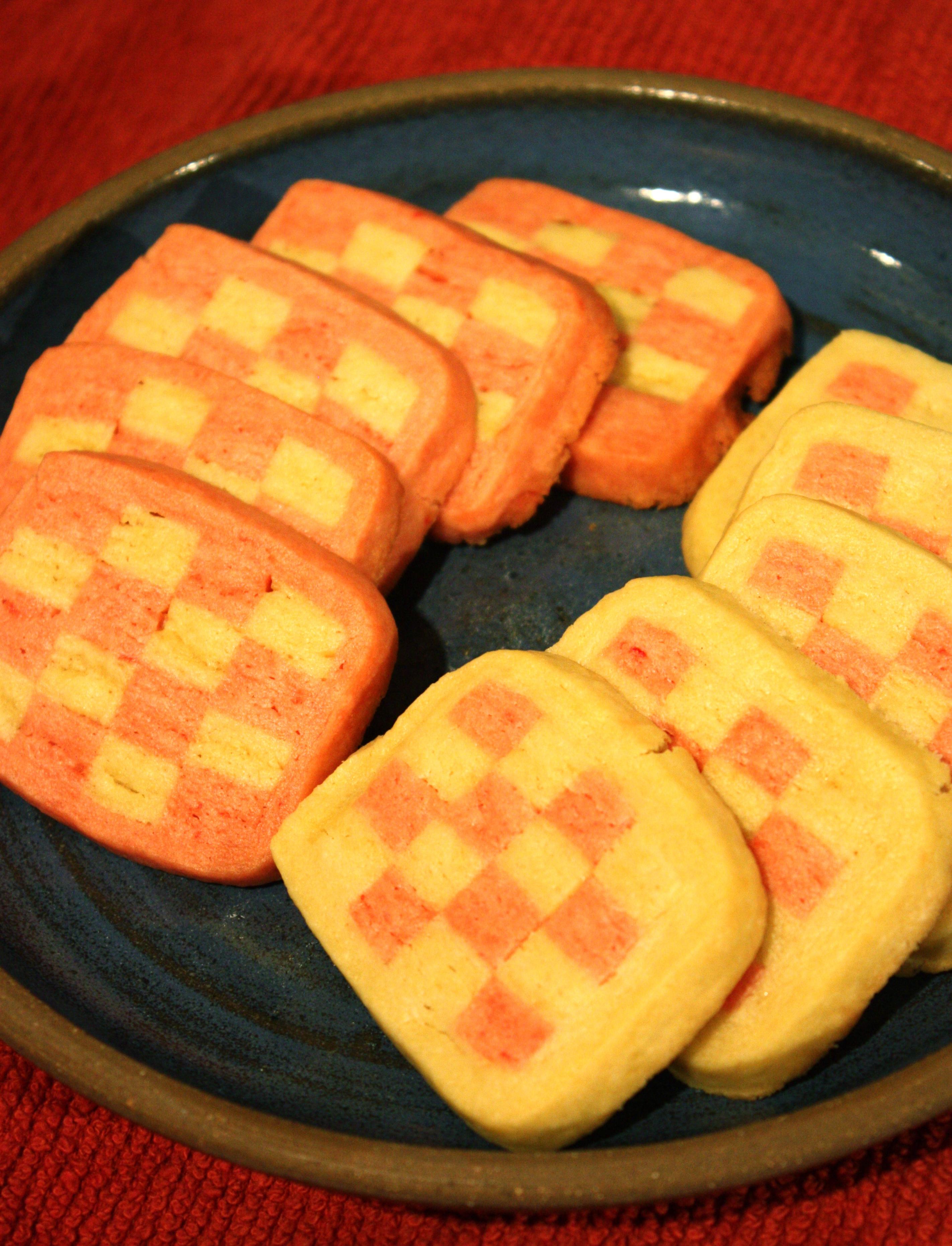 Checkerboard Icebox Cookies Ben The Baker